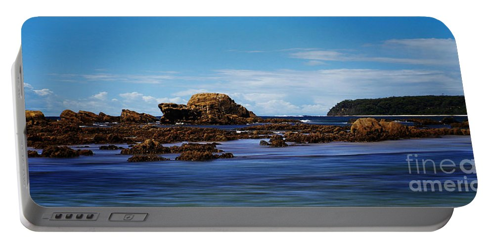 Landscape Portable Battery Charger featuring the photograph Mossy Point 375 by Ben Yassa