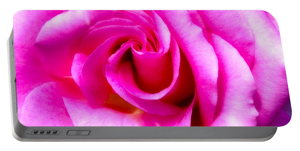Mother's Day Portable Battery Charger featuring the photograph Mother's Day Rose by Mark Andrew Thomas