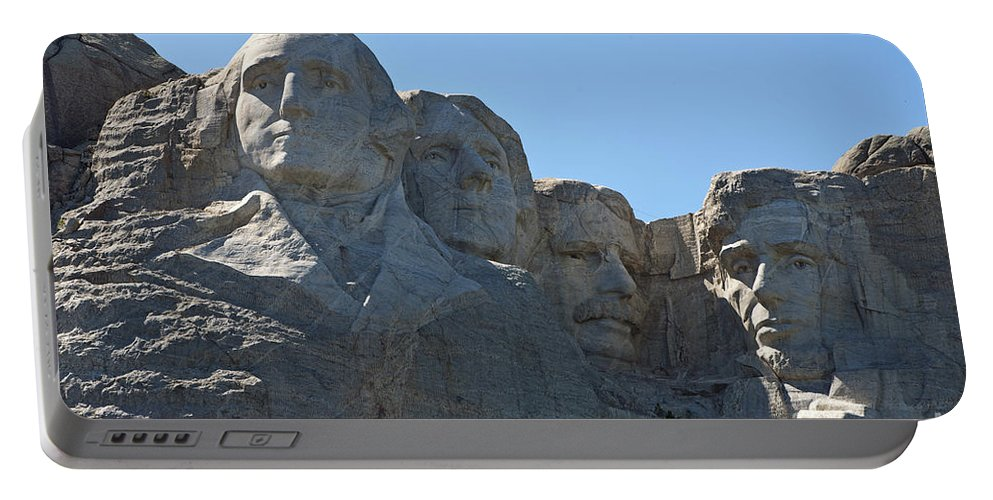 Mount Rushmore Portable Battery Charger featuring the photograph Mount Rushmore National Monument by Jason O Watson