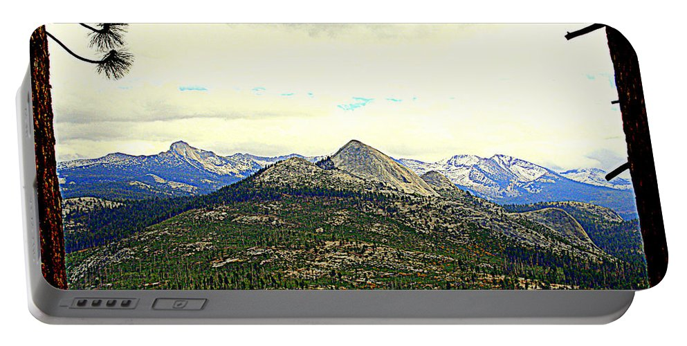 Mountains Portable Battery Charger featuring the photograph Mount Starr King by Lynn Bawden