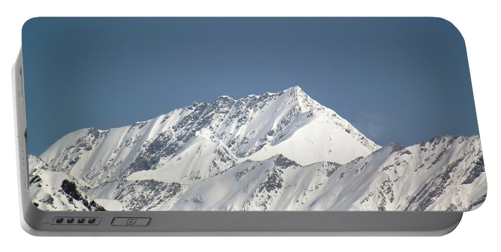Mountain Portable Battery Charger featuring the photograph Mountain Of Peace - Himalayas by Ramabhadran Thirupattur