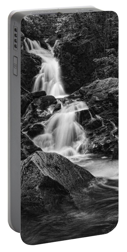 Waterfall Portable Battery Charger featuring the photograph Mouse Creek Falls by Shari Jardina