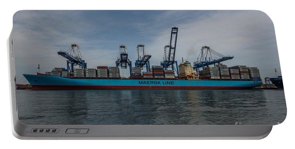 Maersk Portable Battery Charger featuring the photograph Moving Goods by Dale Powell