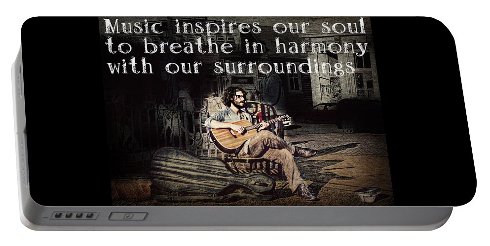Music Portable Battery Charger featuring the photograph Musical Inspiration by Melanie Lankford Photography