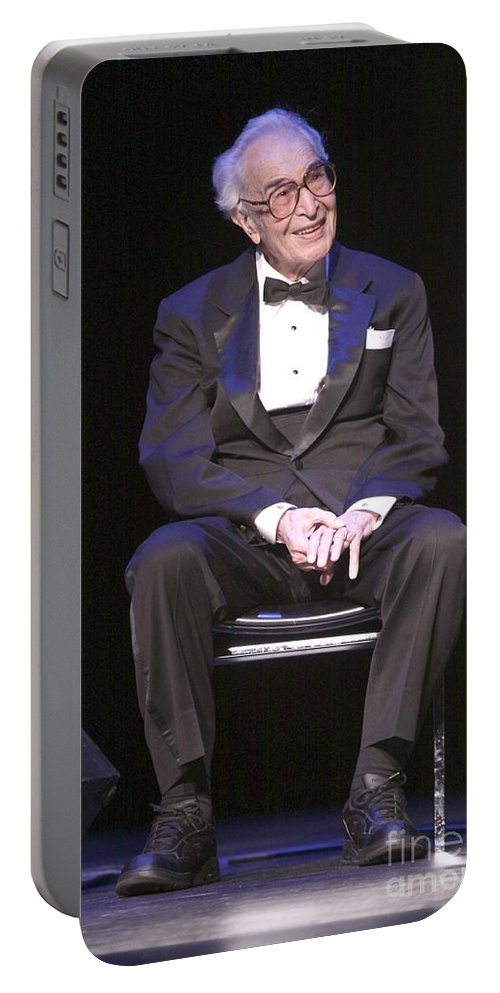 Portable Battery Charger featuring the photograph Musician David Brubeck by Concert Photos