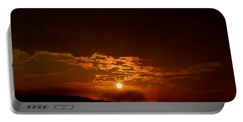 My Morning Manna Portable Battery Charger featuring the photograph My Morning Manna by Maria Urso