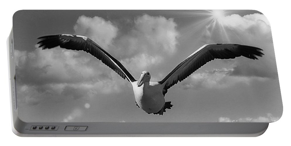 Wings Portable Battery Charger featuring the photograph My Wins 2 by Ben Yassa