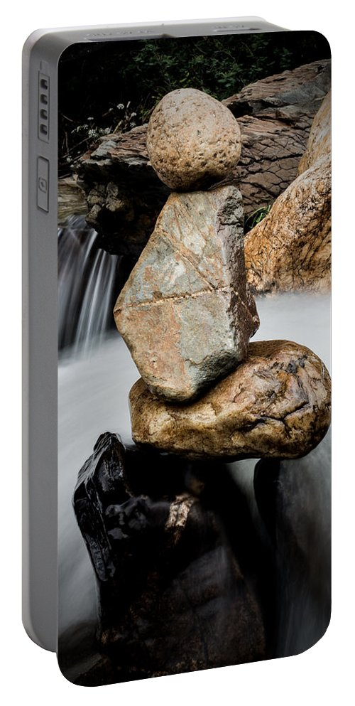 River Portable Battery Charger featuring the photograph Mystic River S2 Xi by Marco Oliveira