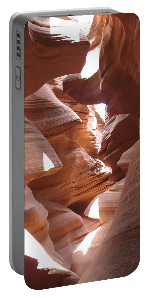 Canyon Portable Battery Charger featuring the photograph Narrow Canyon I by Christiane Schulze Art And Photography