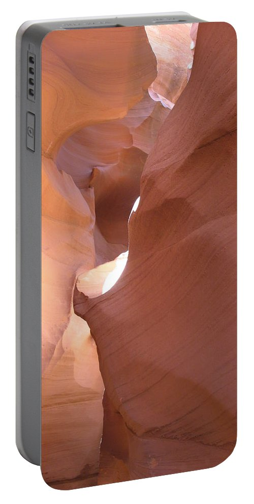 Canyon Portable Battery Charger featuring the photograph Narrow Canyon Viii - Antelope Canyon by Christiane Schulze Art And Photography