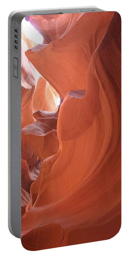 Canyon Portable Battery Charger featuring the photograph Narrow Canyon Xi by Christiane Schulze Art And Photography