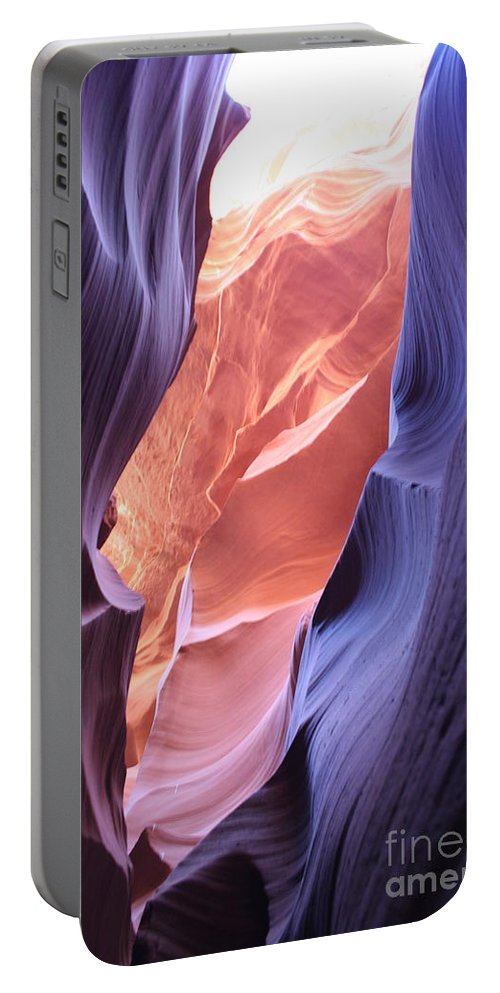 Canyon Portable Battery Charger featuring the photograph Narrow Canyon Xii by Christiane Schulze Art And Photography