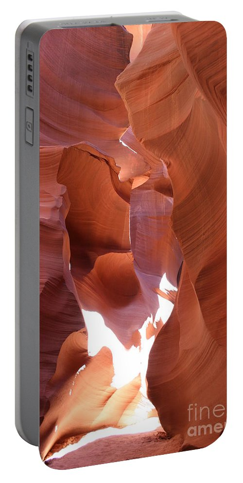 Canyon Portable Battery Charger featuring the photograph Narrow Canyon Xiii by Christiane Schulze Art And Photography