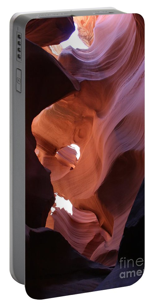 Canyon Portable Battery Charger featuring the photograph Narrow Canyon Xv by Christiane Schulze Art And Photography