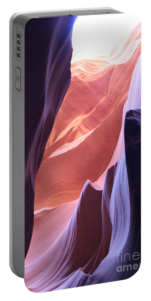 Canyon Portable Battery Charger featuring the photograph Narrow Canyon Xvi - Antelope Canyon by Christiane Schulze Art And Photography