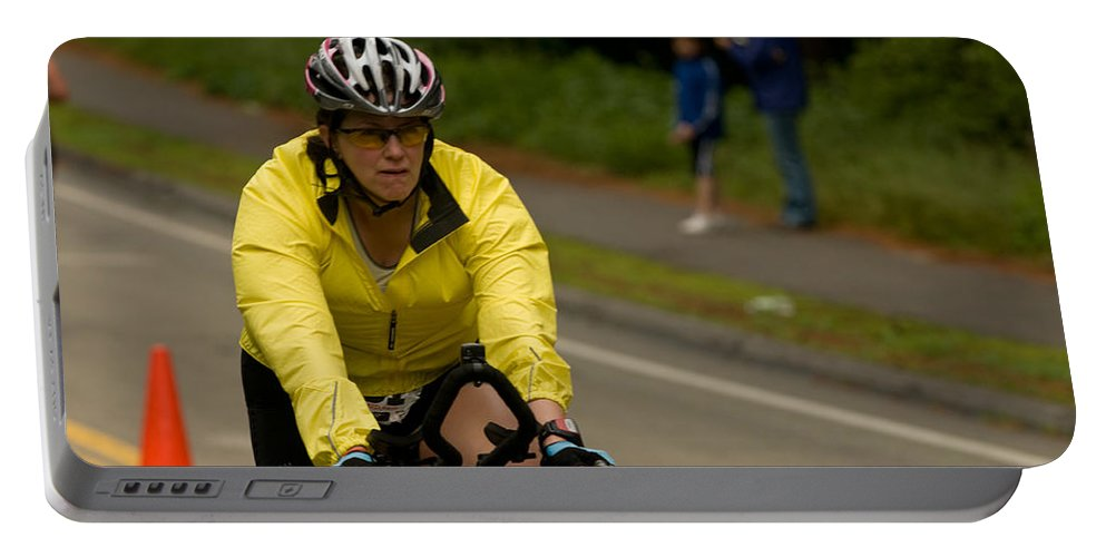 Portable Battery Charger featuring the photograph Nashua Sprint Y-tri 14 by Paul Mangold