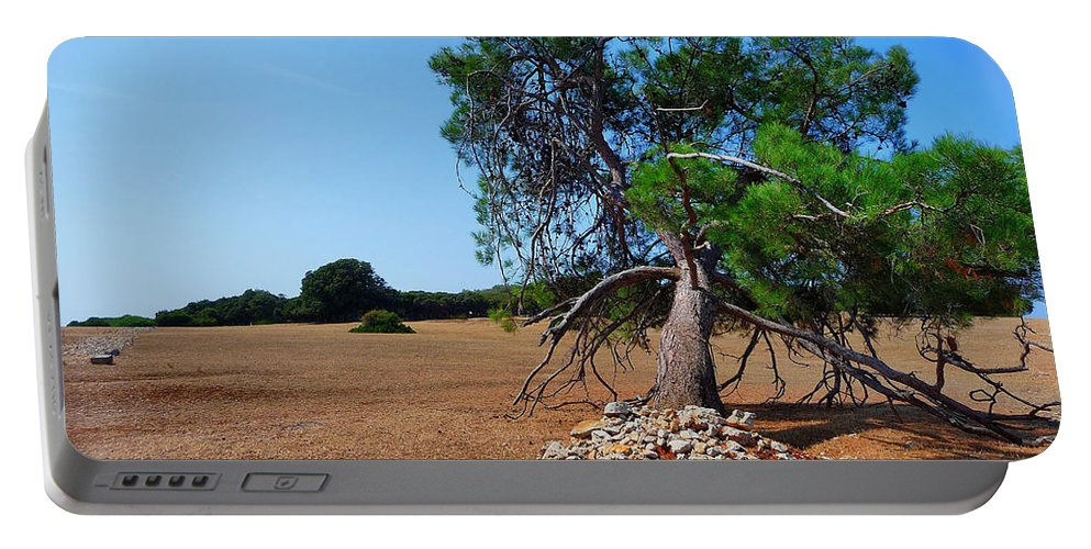 Brijuni Portable Battery Charger featuring the photograph National Park Islands Of Brijuni by Brch Photography