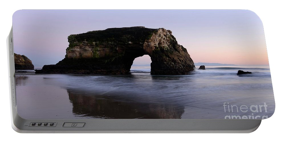 California Portable Battery Charger featuring the photograph Natural Bridges State Park California by Bob Christopher