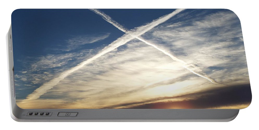 Sunrise Portable Battery Charger featuring the photograph Natural Exaltation by Caryl J Bohn
