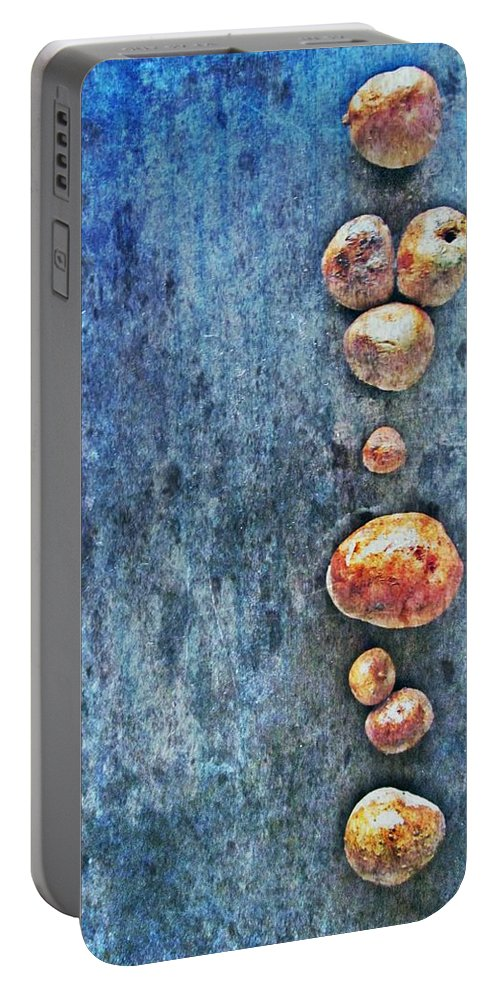 Nature Abstract Portable Battery Charger featuring the digital art Nature Abstract 42 by Maria Huntley