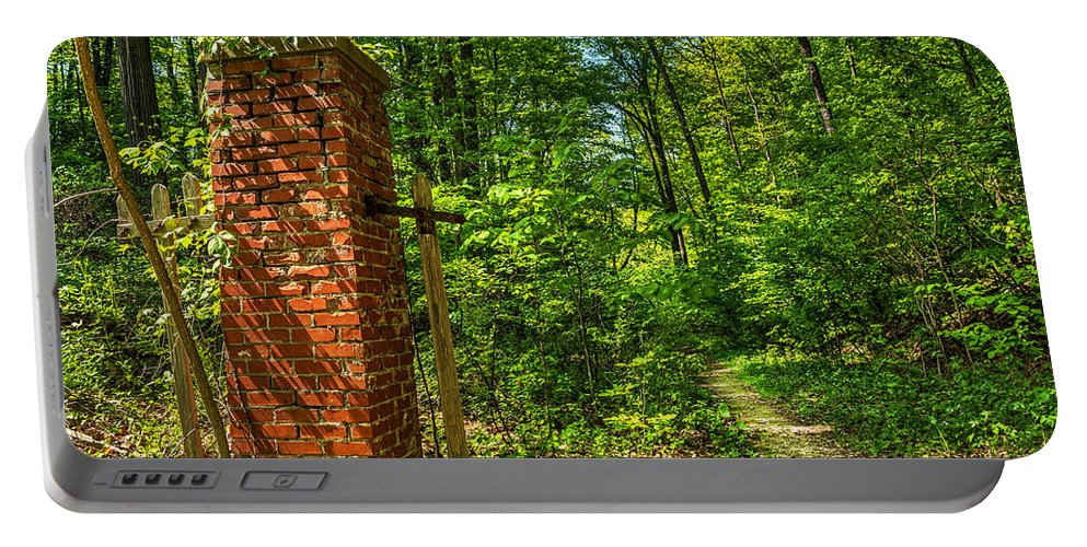 Lucien Morin Park Portable Battery Charger featuring the photograph Nature Reclaims by Tim Buisman