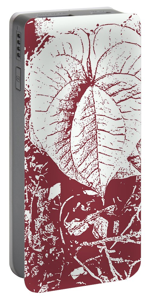 Heart Portable Battery Charger featuring the digital art Nature's Heart 2 by Lovina Wright