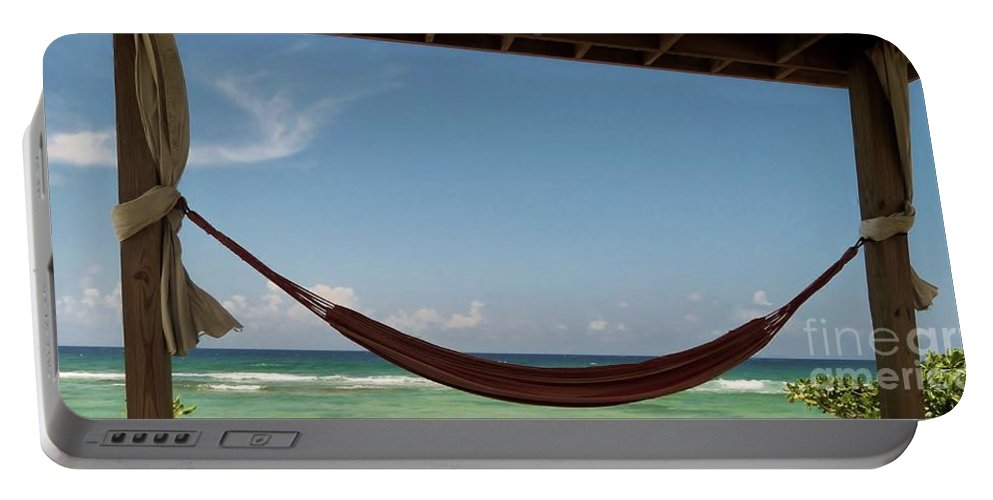 Color Portable Battery Charger featuring the photograph Near Horizon by Amar Sheow
