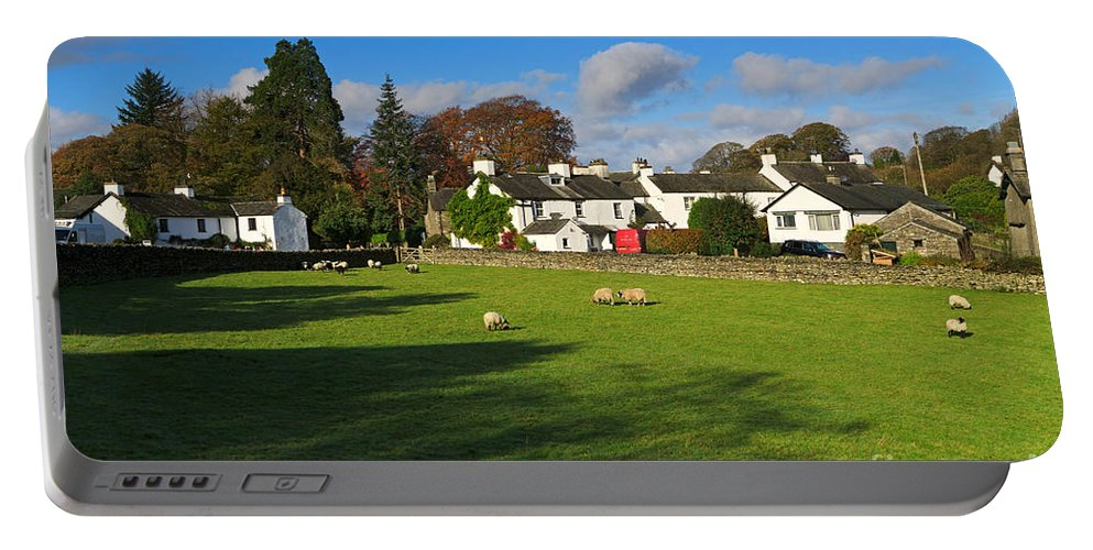 Near Sawrey Portable Battery Charger featuring the photograph Near Sawrey In The Lake District by Louise Heusinkveld