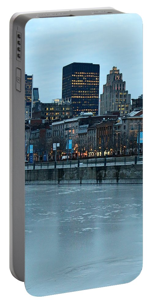 Montreal Portable Battery Charger featuring the photograph Near The Lake by Munir Alawi