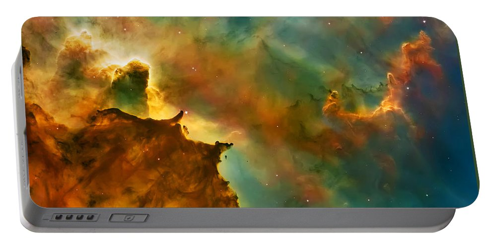 Nasa Images Portable Battery Charger featuring the photograph Nebula Cloud by Jennifer Rondinelli Reilly - Fine Art Photography