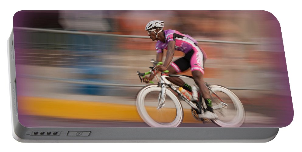 Bicycle Portable Battery Charger featuring the photograph Need For Speed by Michael Porchik