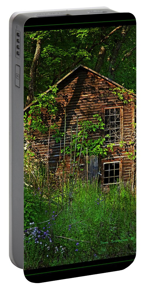 Homestead Portable Battery Charger featuring the photograph Needs Lawncare by John Stephens