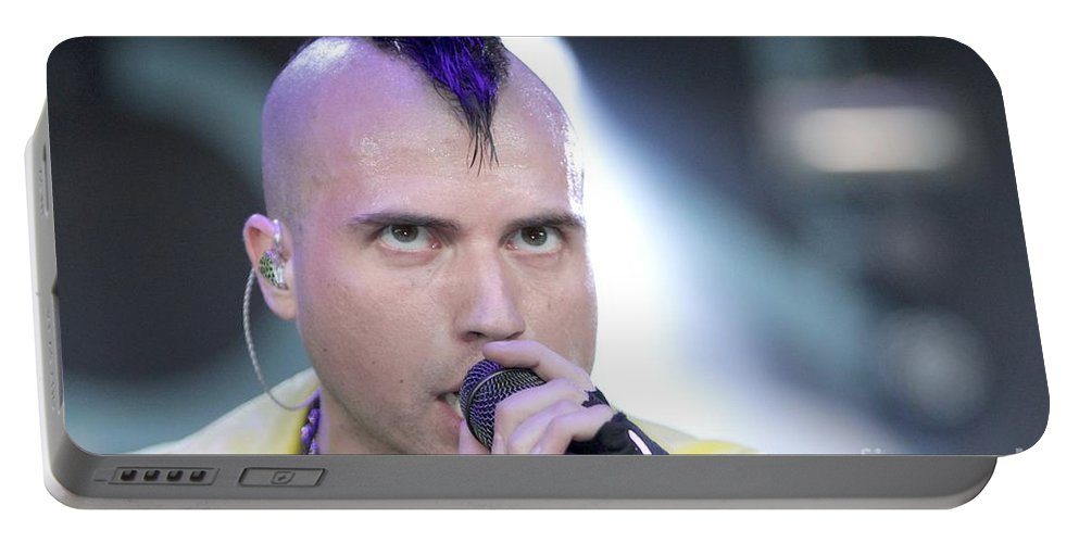 Photos For Sale Portable Battery Charger featuring the photograph Neon Trees by Concert Photos