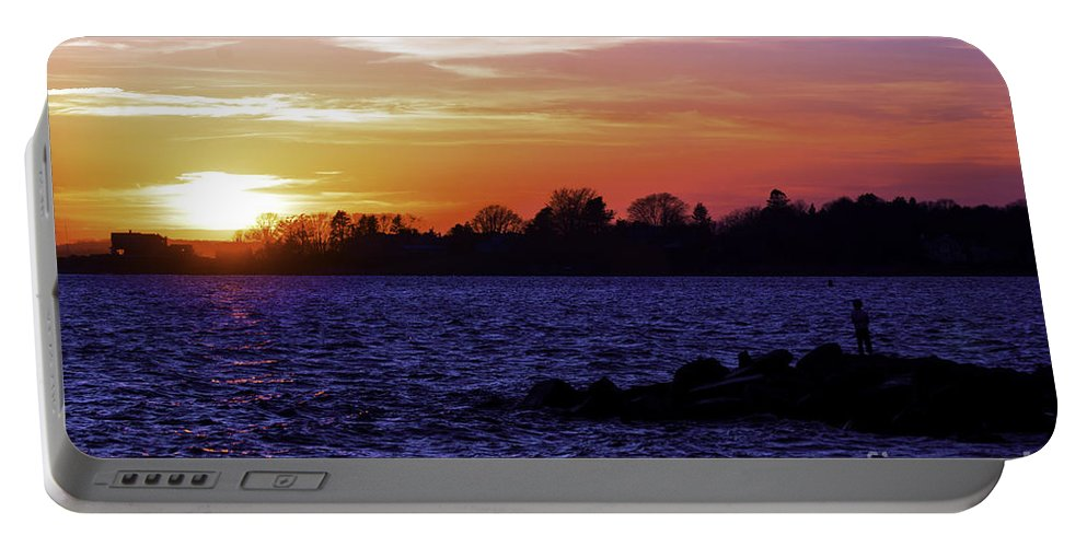 Sun Portable Battery Charger featuring the photograph New Fan by Joe Geraci