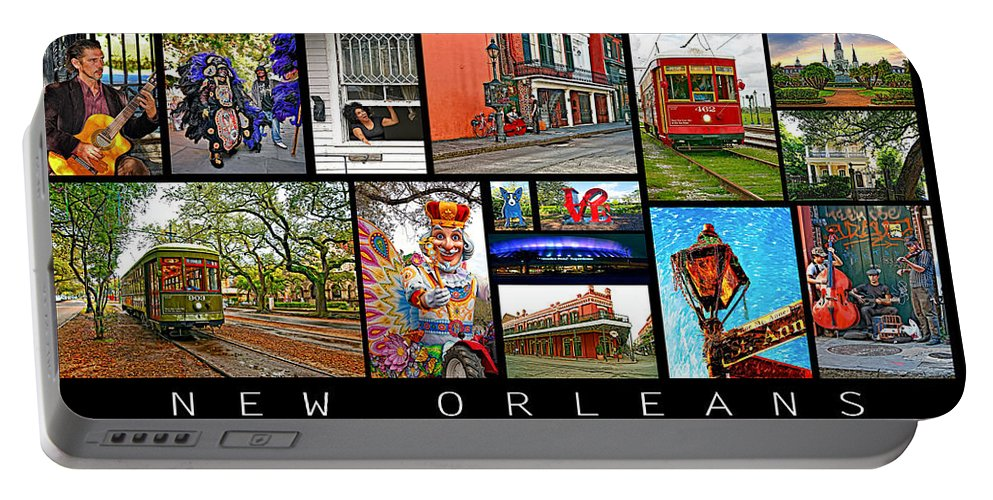 New Orleans Portable Battery Charger featuring the photograph New Orleans by Steve Harrington