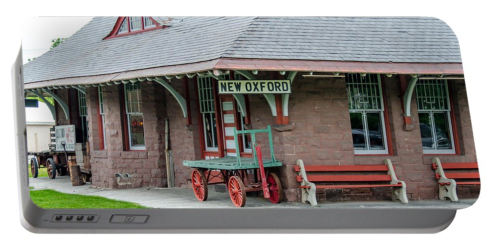 Guy Whiteley Photography Portable Battery Charger featuring the photograph New Oxford Depot 2559 by Guy Whiteley