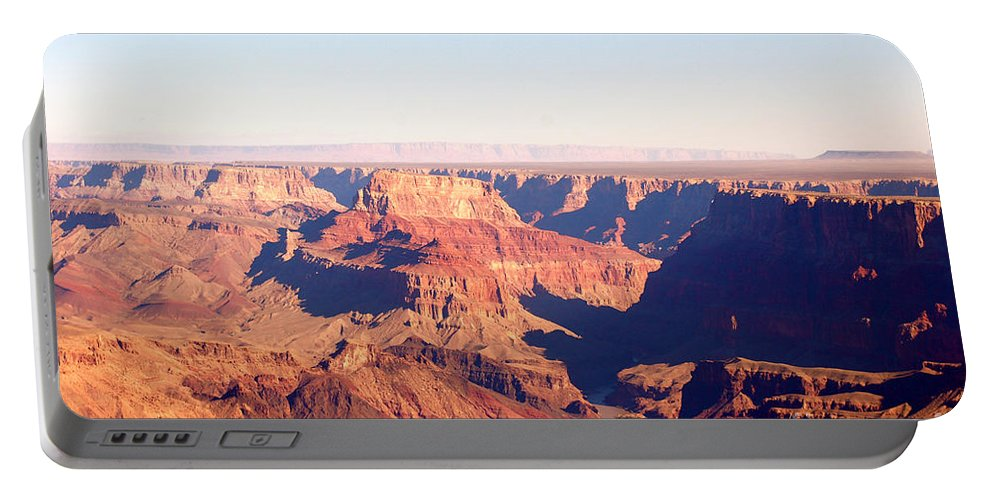 Canyon Portable Battery Charger featuring the photograph New Photographic Art Print For Sale Grand Canyon 2 by Toula Mavridou-Messer
