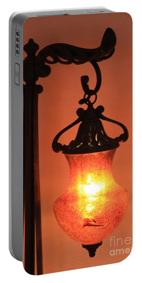 Evening Portable Battery Charger featuring the photograph Night by Brandi Maher