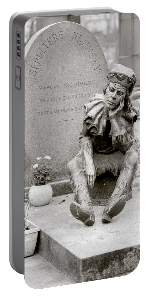 Ballet Portable Battery Charger featuring the photograph Nijinsky In Paris by Shaun Higson