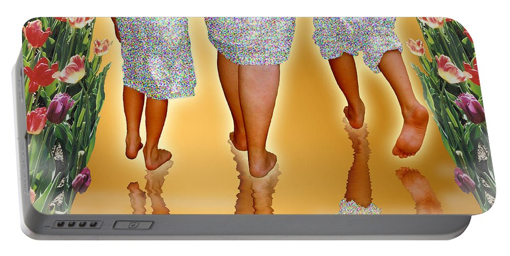 Feet Portable Battery Charger featuring the photograph No Eye Has Seen by Brad McLean