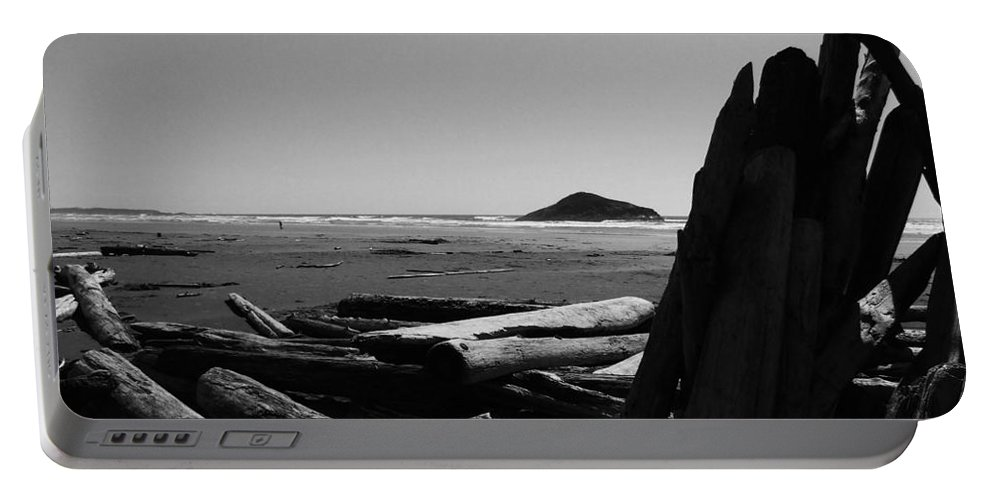Photo Portable Battery Charger featuring the photograph Noble Remnants by Marianne NANA Betts