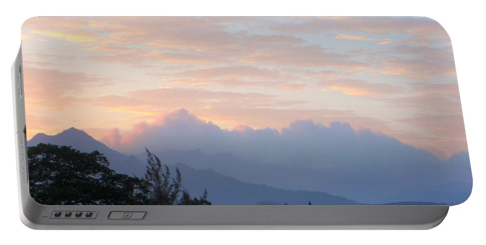 Kauai Portable Battery Charger featuring the photograph North Shore Haze by Mary Deal