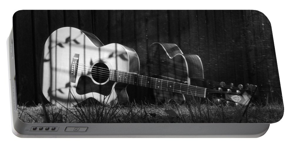 Music Portable Battery Charger featuring the photograph Nostaglia by Stacie Adams