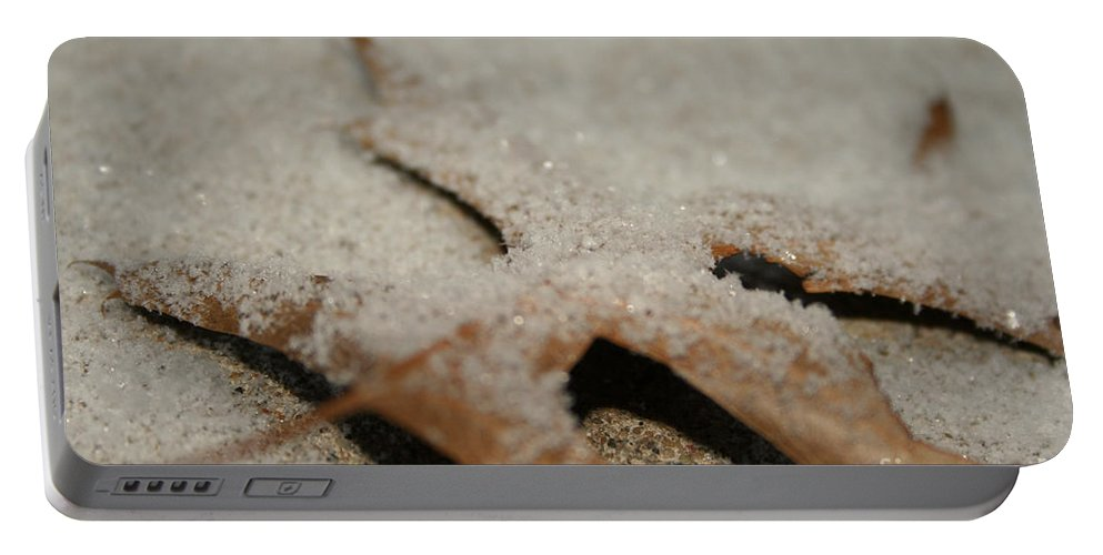 Outdoors Portable Battery Charger featuring the photograph November Sparkle by Susan Herber