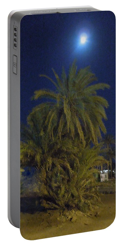 Colette Portable Battery Charger featuring the photograph Nuweiba By Night Sinai Egypt by Colette V Hera Guggenheim