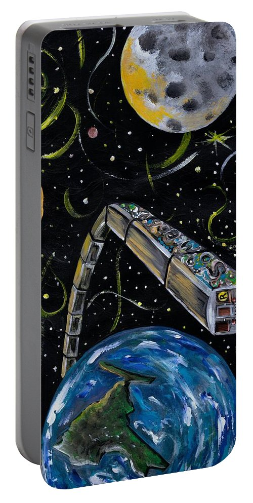 Beautiful Portable Battery Charger featuring the photograph Ny State Of Mind by Artist RiA