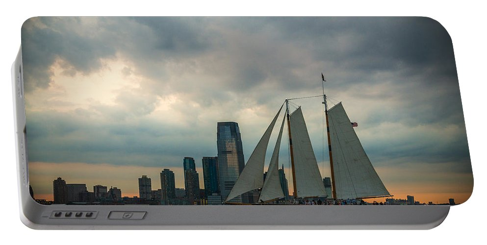New York City Portable Battery Charger featuring the photograph Nyc Pirates by Kristopher Schoenleber