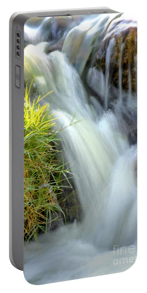 Water Portable Battery Charger featuring the photograph Oasis by Deb Halloran