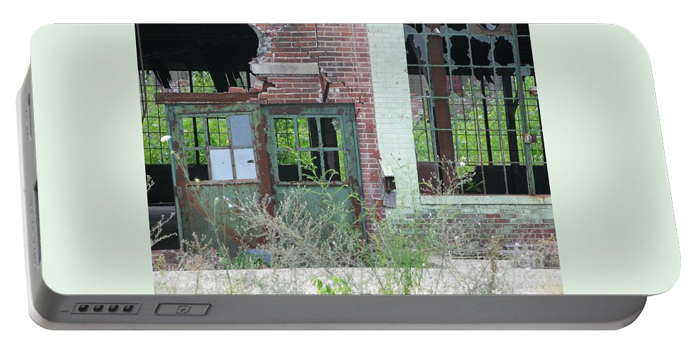 Factory Portable Battery Charger featuring the photograph Obsolete by Ann Horn
