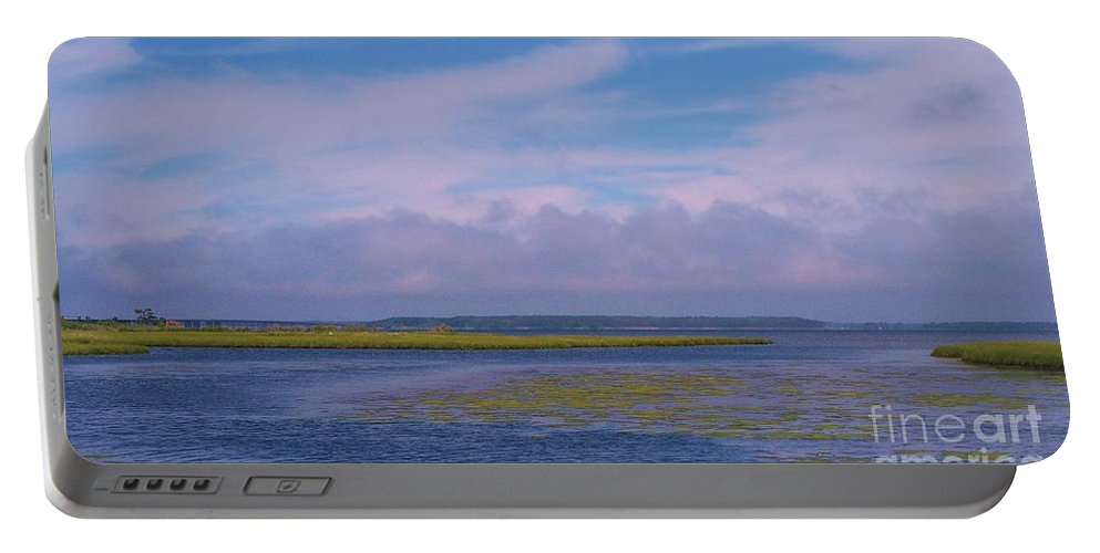 Bay Portable Battery Charger featuring the photograph Ocean City Maryland by Eric Schiabor